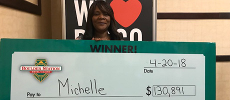 Jumbo Bingo Winner Michelle