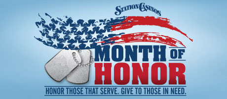 Month of Honor at Station Casinos