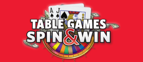 Table Games Spin & Win