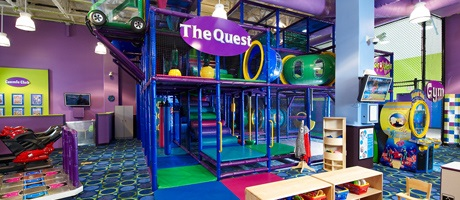 Kids Quest supervised hourly childcare